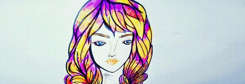 Draw & Paint Hair