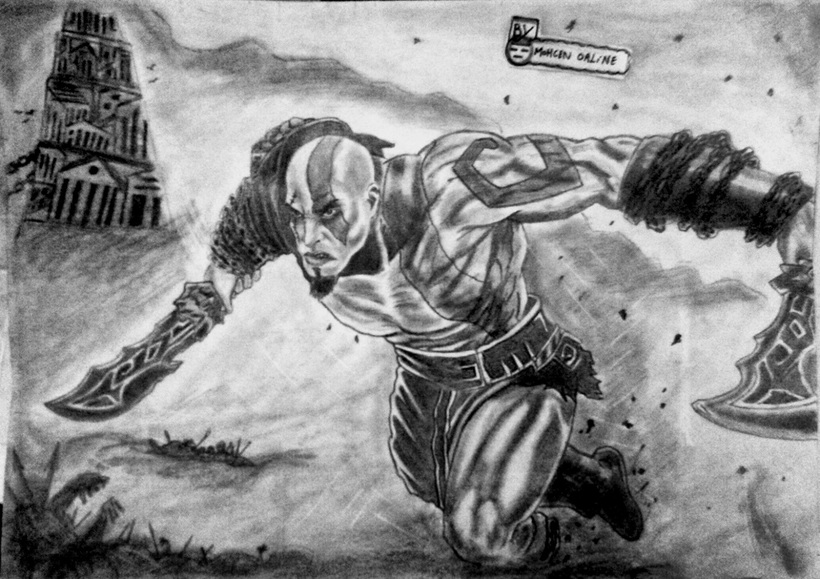 Kratos Game God Of War 3 Nojoto