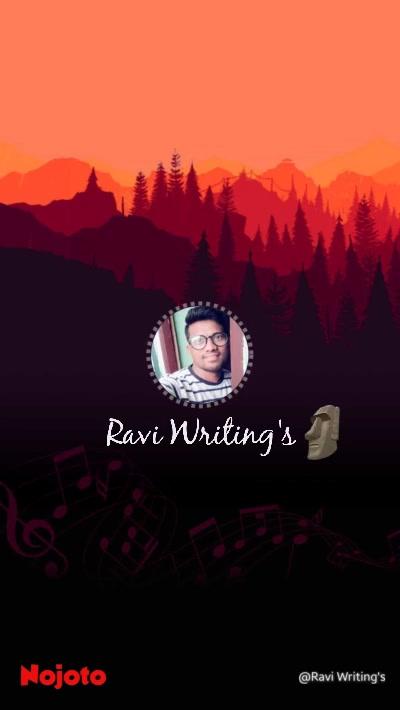 Ravi Writing's 🗿