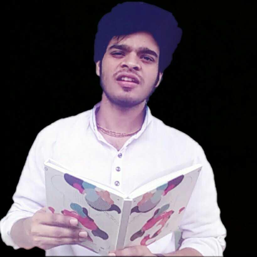 Poet Shivam Singh Sisodiya