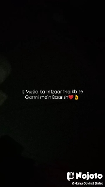 Is Music Ka Intzaar tha kb se Garmi mein Baarish❤️👌