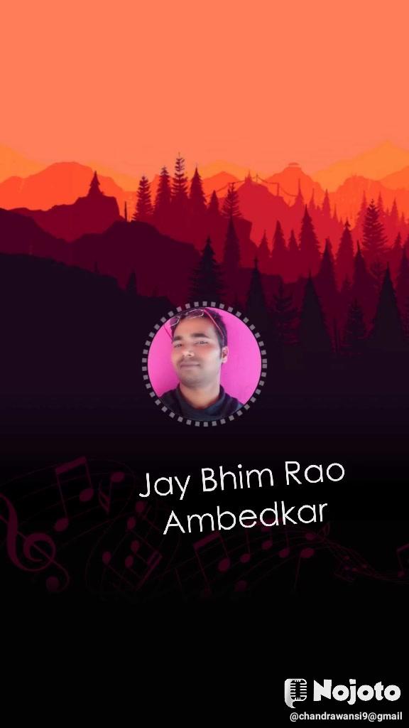 Jay Bhim Rao Ambedkar