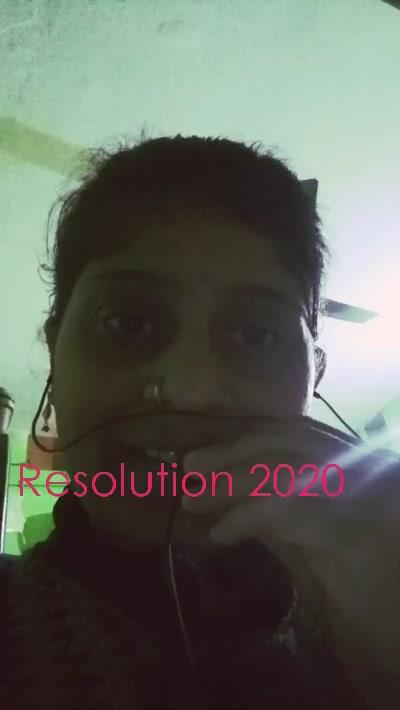 Resolution 2020