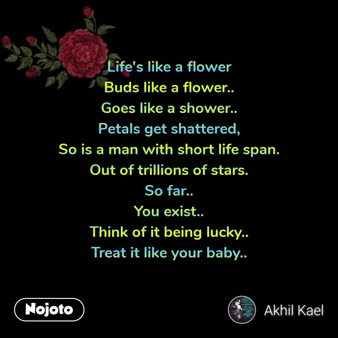 flower sms shayari quotes life s like a flower bud nojoto