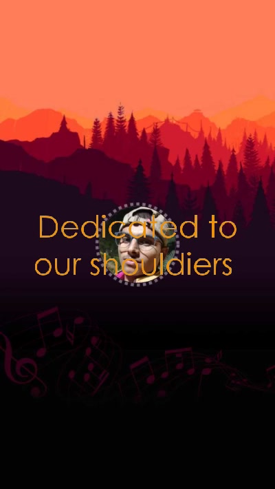 Dedicated to our shouldiers
