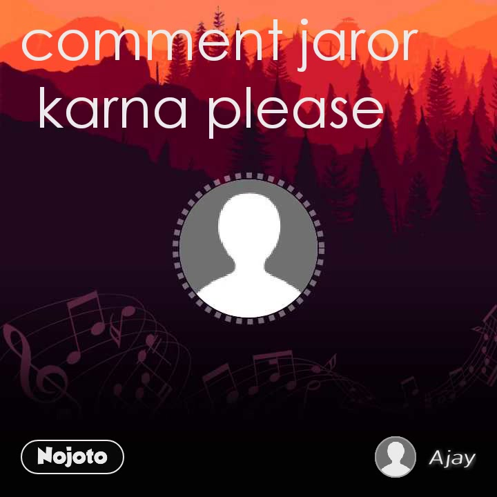 comment jaror karna please