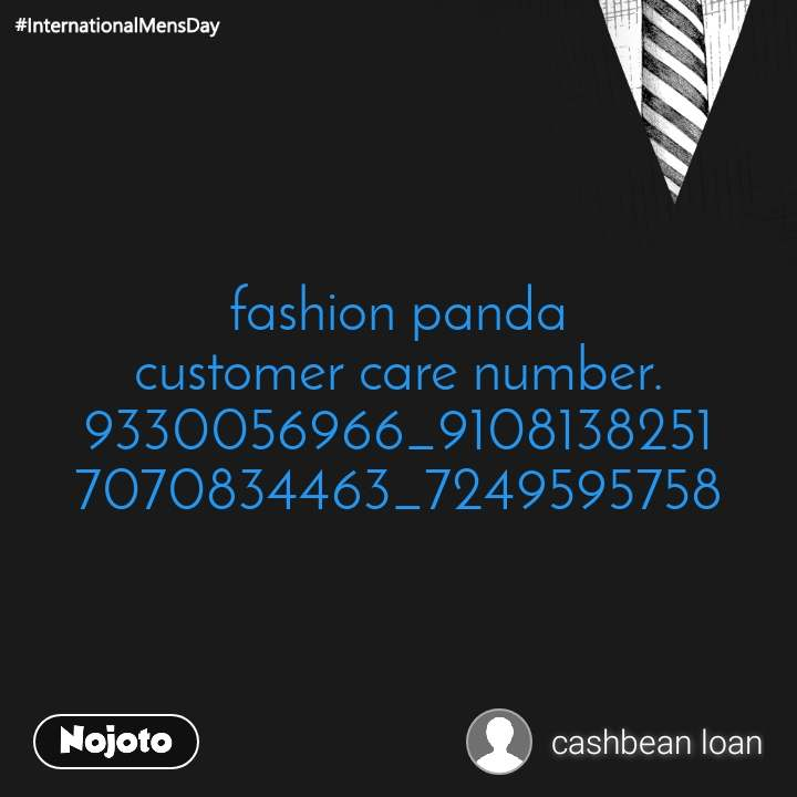 fashion panda customer care number.9330056966_9108138251 7070834463_7249595758