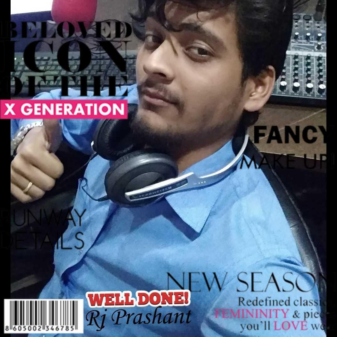 Rj Prashant  Rj/Vj / writer/ author/Anchor 👨👨👦👦💗💝💝