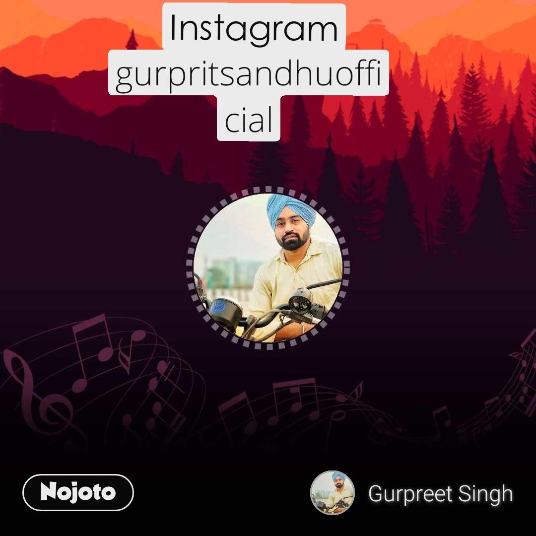 Instagram gurpritsandhuofficial