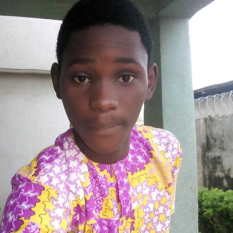 Prince Uchenna A young poet, lover of creativity and a comic personnel