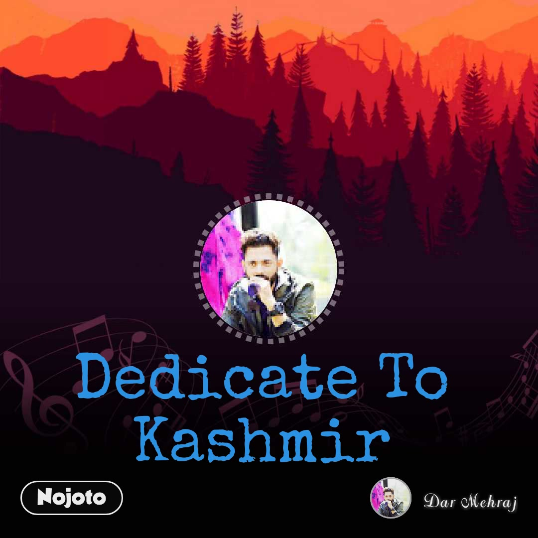 Dedicate To Kashmir