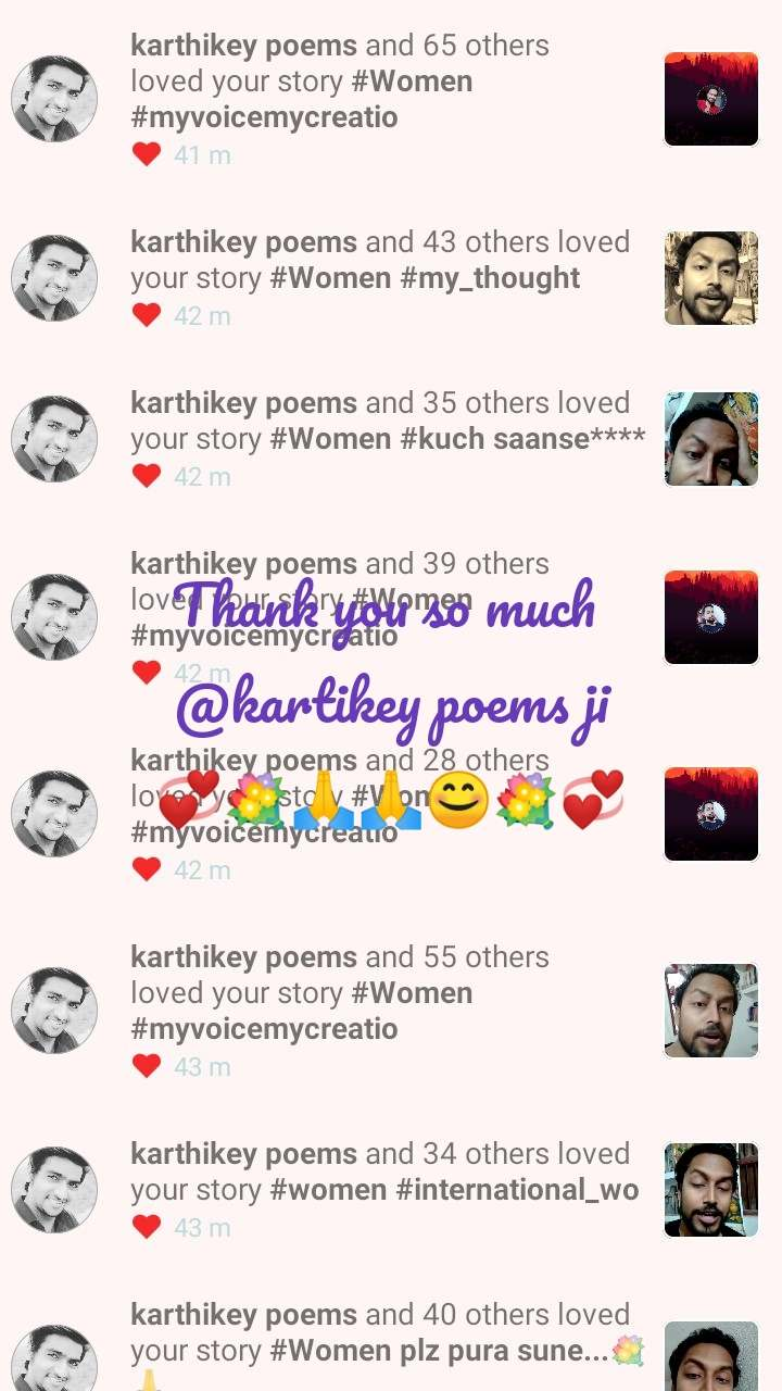 Thank you so much  @kartikey poems ji 💞💐🙏🙏😊💐💞