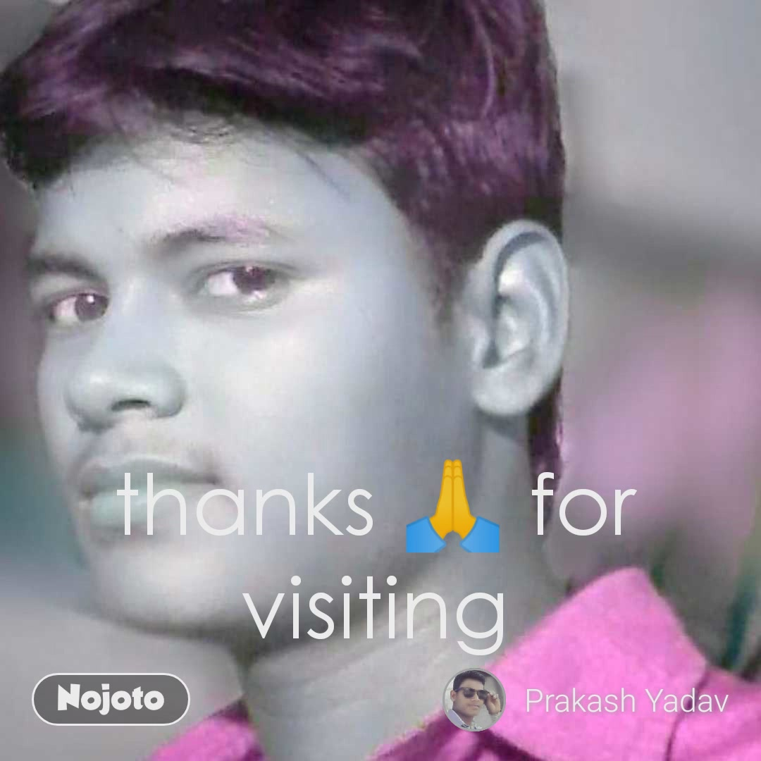 thanks 🙏 for visiting