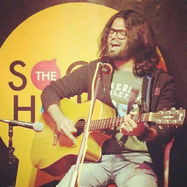 Pankaj Bhatt poet/singer/songwriter
