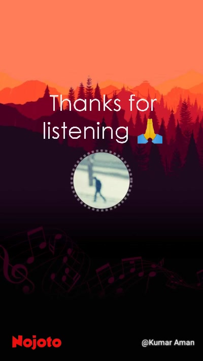 Thanks for listening 🙏