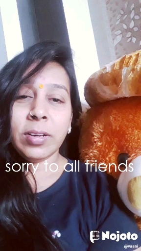 sorry to all friends