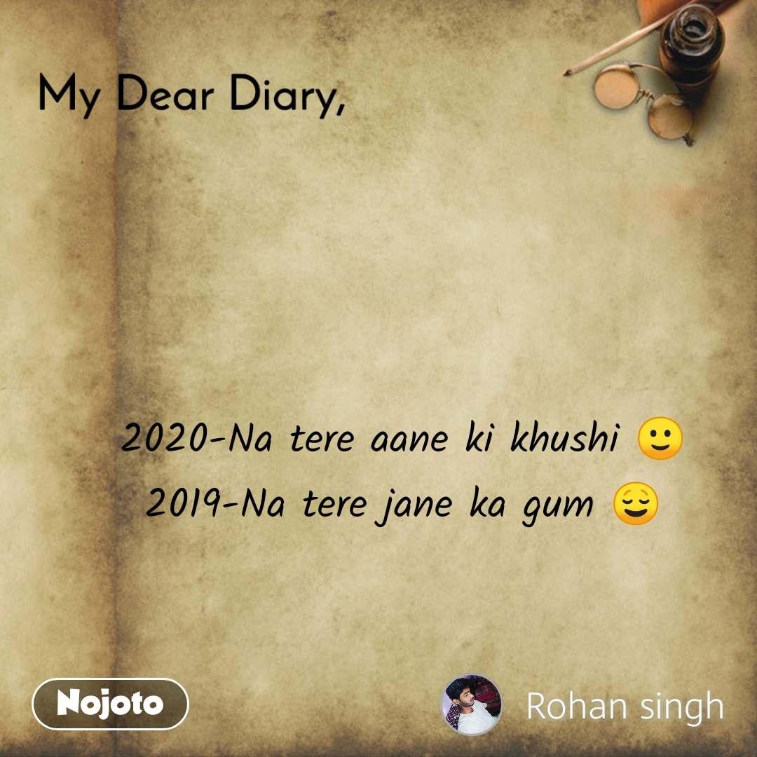 my dear diary na tere aane ki khushi 🙂 english quotes