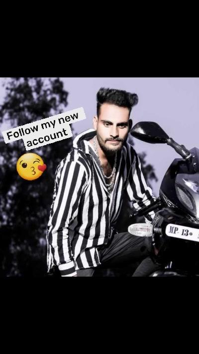 Follow my new  account  😘