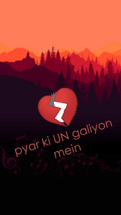pyar ki UN galiyon mein 💔