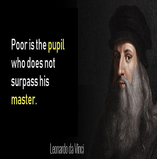 Quote Of The Day By Leonardo Da Vinci Quotes Nojoto