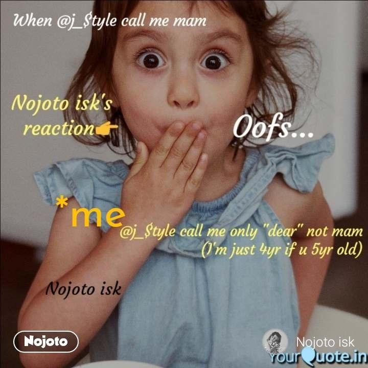 *me    nojoto.com     #NojotoQuote