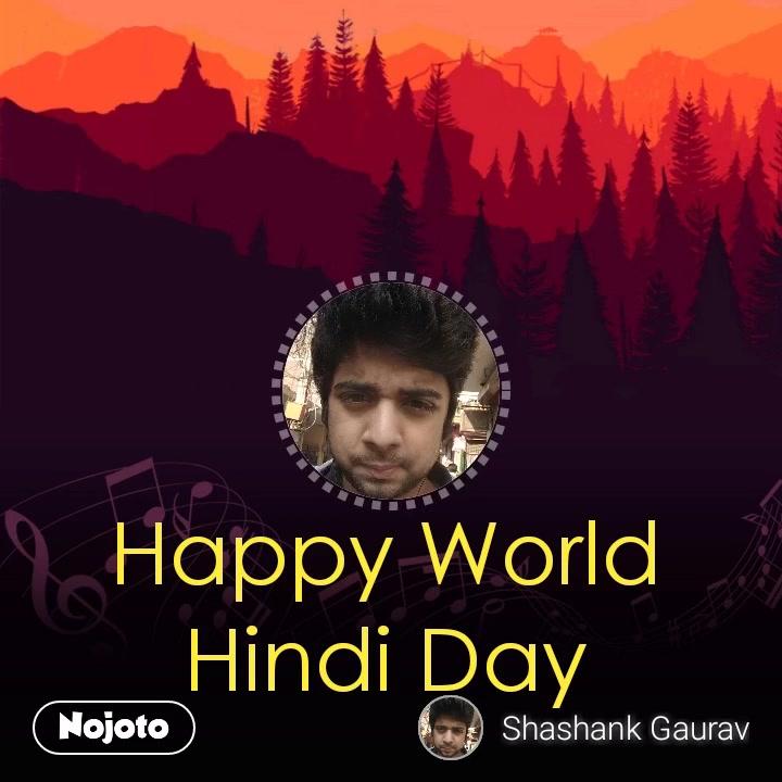 nullHappy World Hindi Day #NojotoVoice