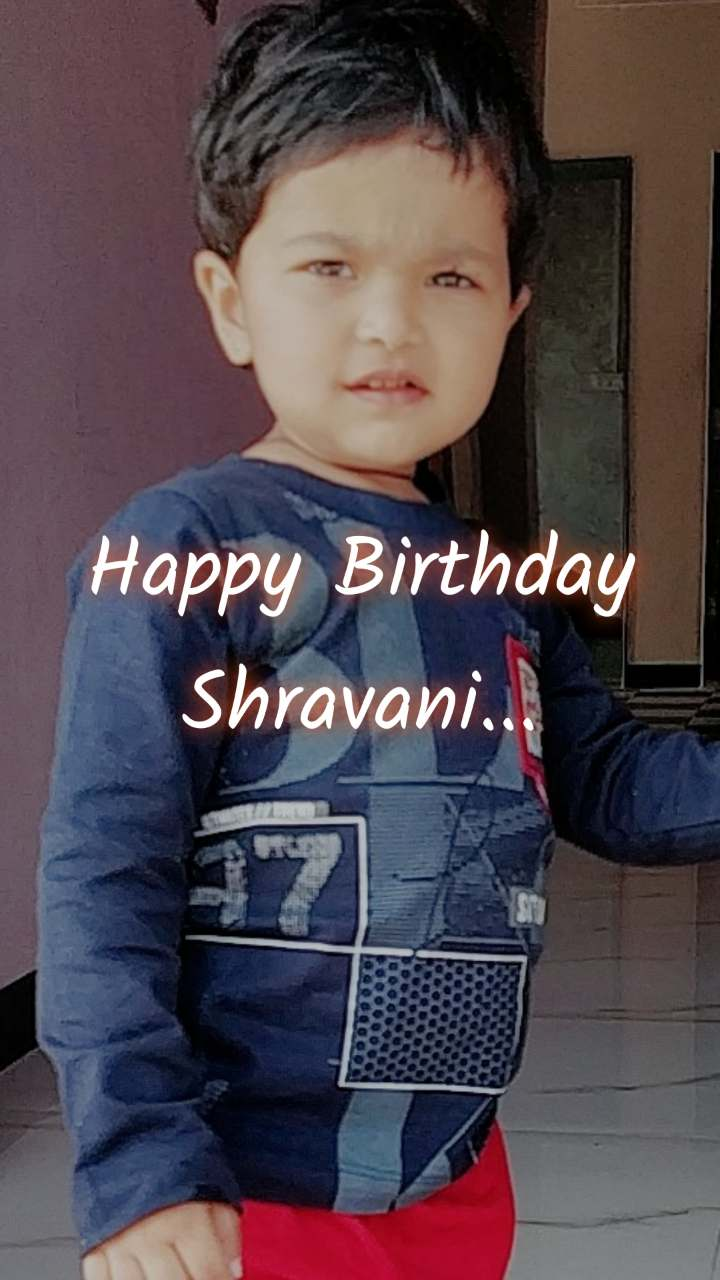 Happy Birthday Shravani...