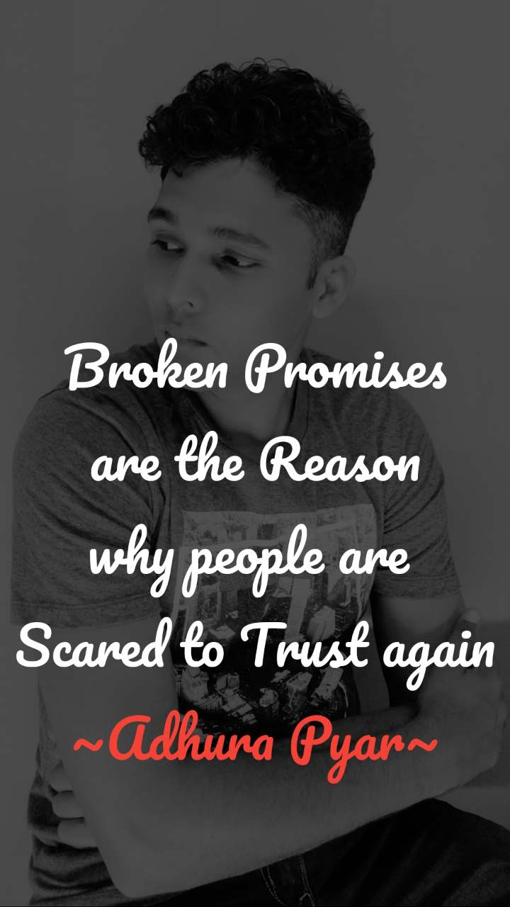 Quotes about broken promises and trust