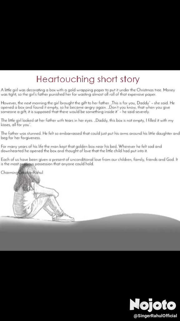 Heartouching short story