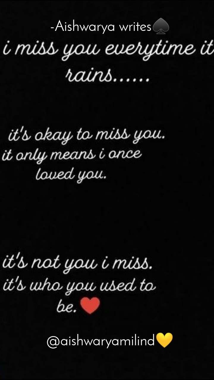 -Aishwarya writes♠                     @aishwaryamilind💛