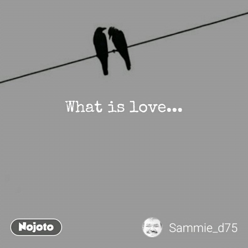 What is love...