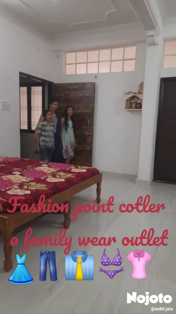Fashion point cotler  a family wear outlet 👗 👖 👔 👙 👚