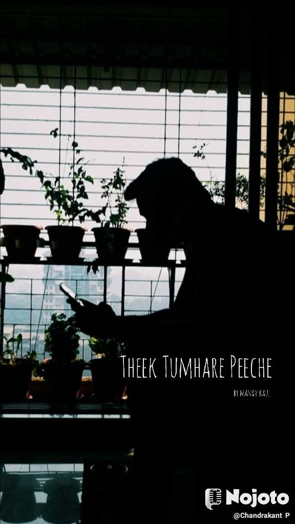 Theek Tumhare Peeche by manav kaul