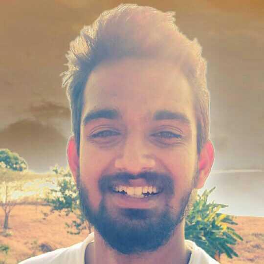 Shurick Shrivastava Student on an Internship.