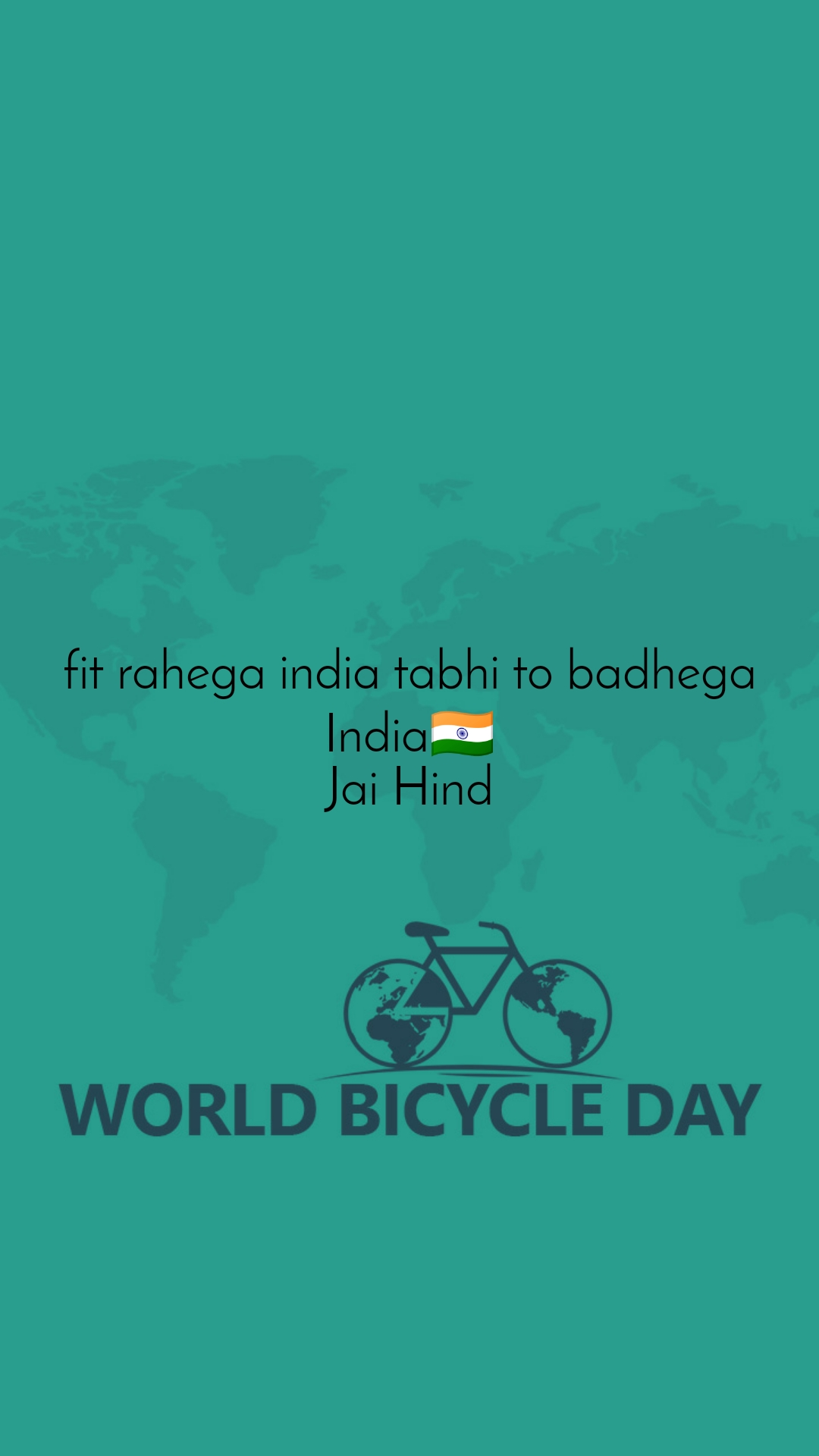 fit rahega india tabhi to badhega India🇮🇳 Jai Hind