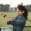 vishakha chauhan national player in shooting ball national cadet corps Volleyball lover hobbies .... writing ND playing