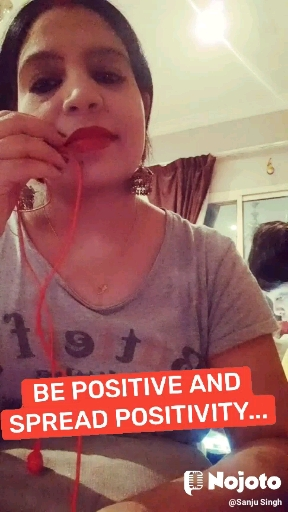 BE POSITIVE AND SPREAD POSITIVITY...