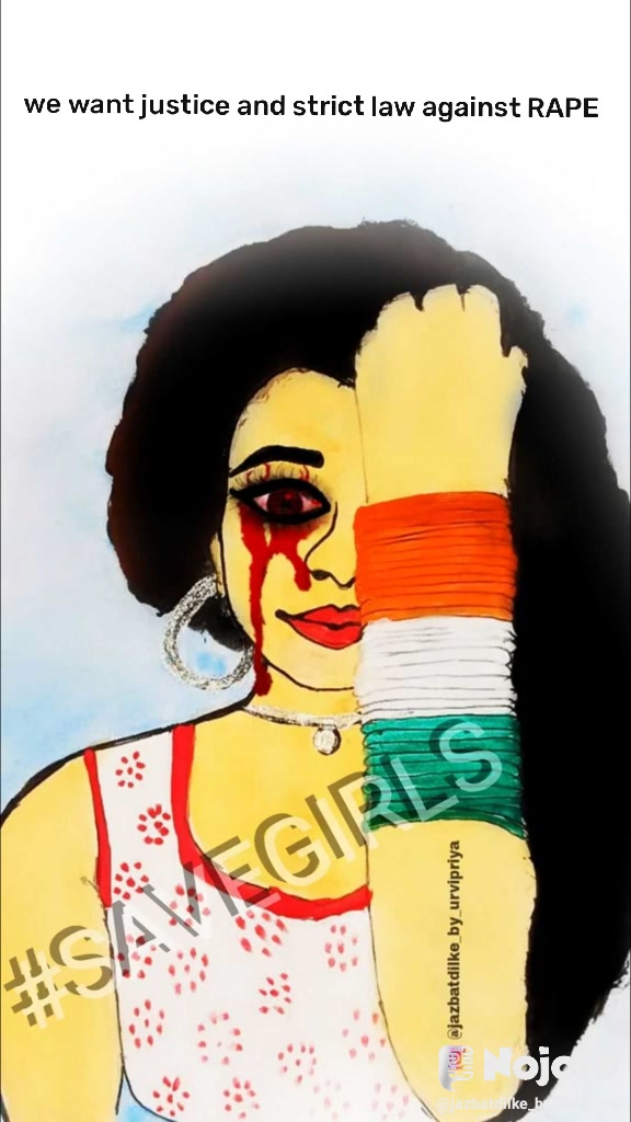 we want justice and strict law against RAPE