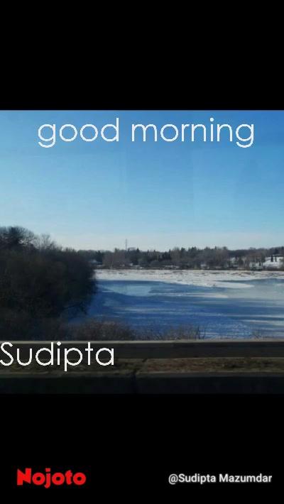 good morning Sudipta