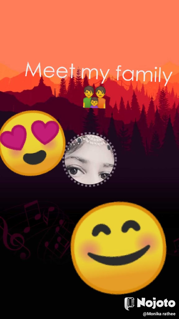 😍 😊 Meet my family 👪