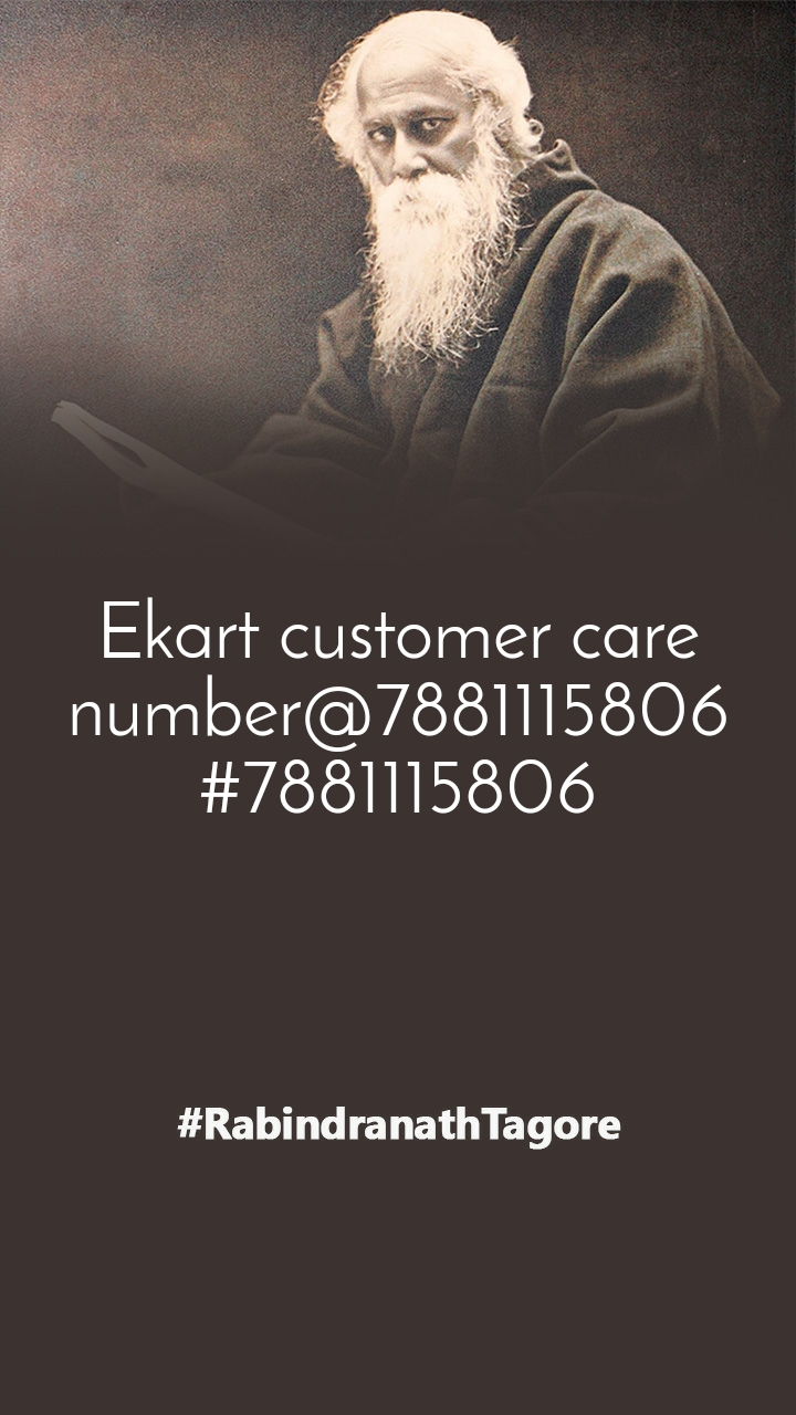 Ekart customer care number@7881115806#7881115806