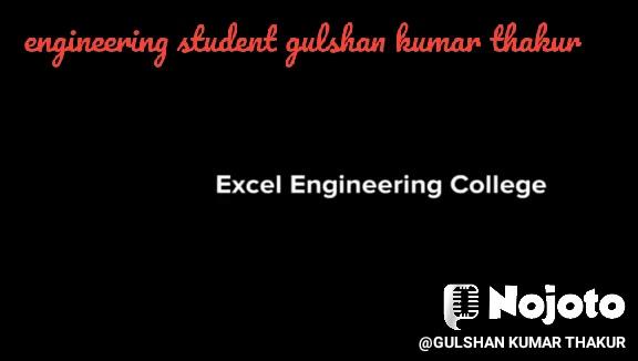 engineering student gulshan kumar thakur