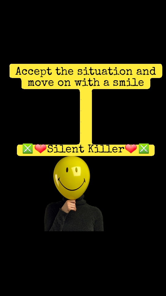 #Worldsmileday  Accept the situation and move on with a smile      ⚔❤Silent Killer❤⚔