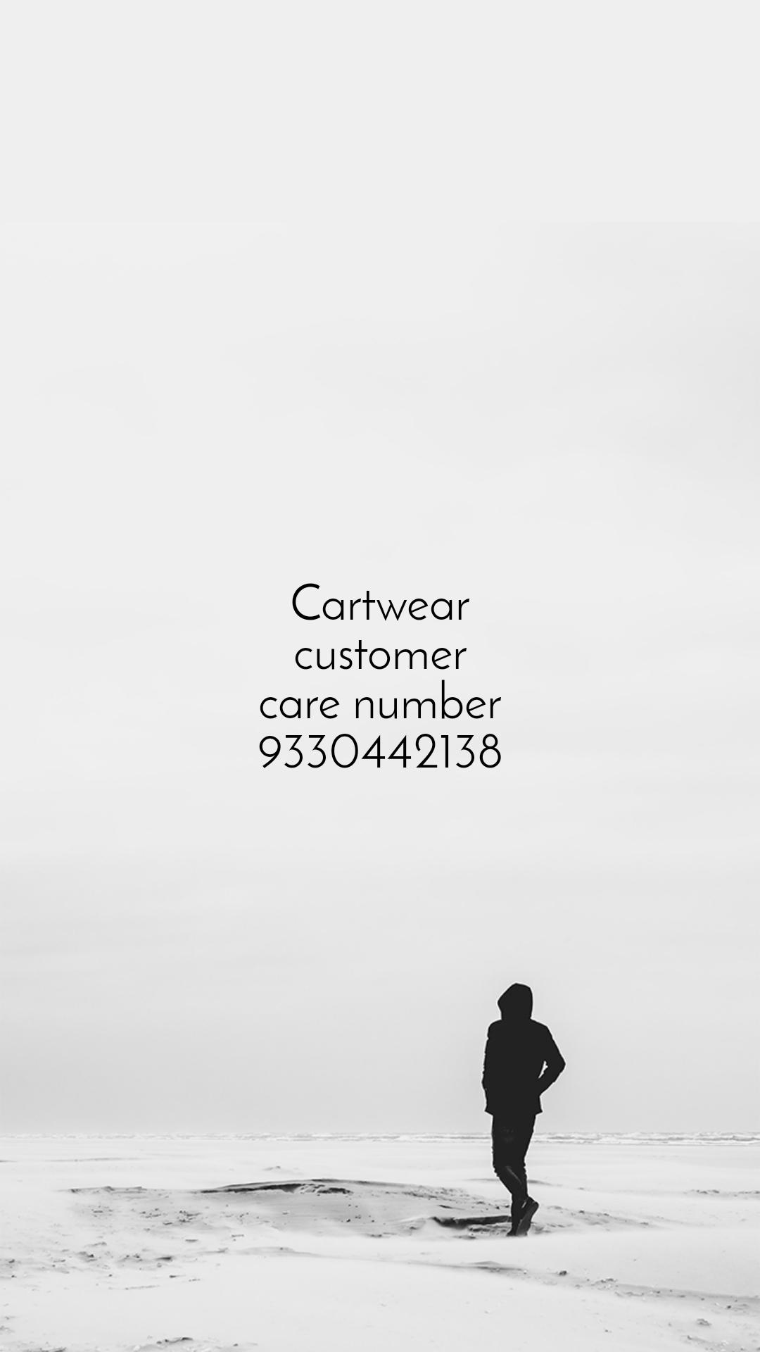 Cartwear customer care number 9330442138