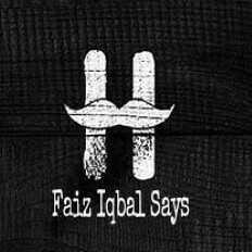 Faiz Iqbal Says