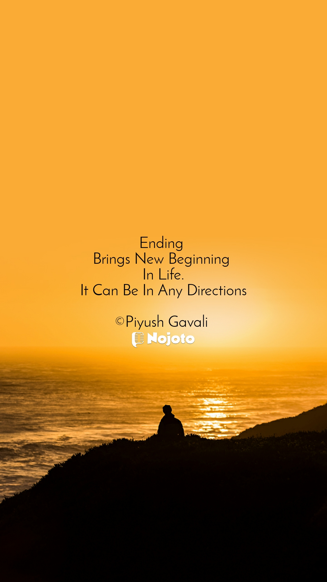 Ending  Brings New Beginning  In Life. It Can Be In Any Directions  ©Piyush Gavali