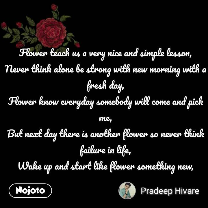 flower sms shayari quotes flower teach us a very n english quote