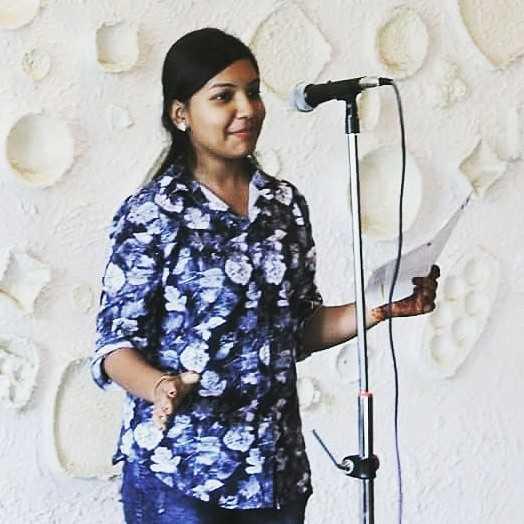 Kaju Agarwal  Poetess    Insta __kaju_agarwal__  I'm the wormhole between reality and fiction.🍁