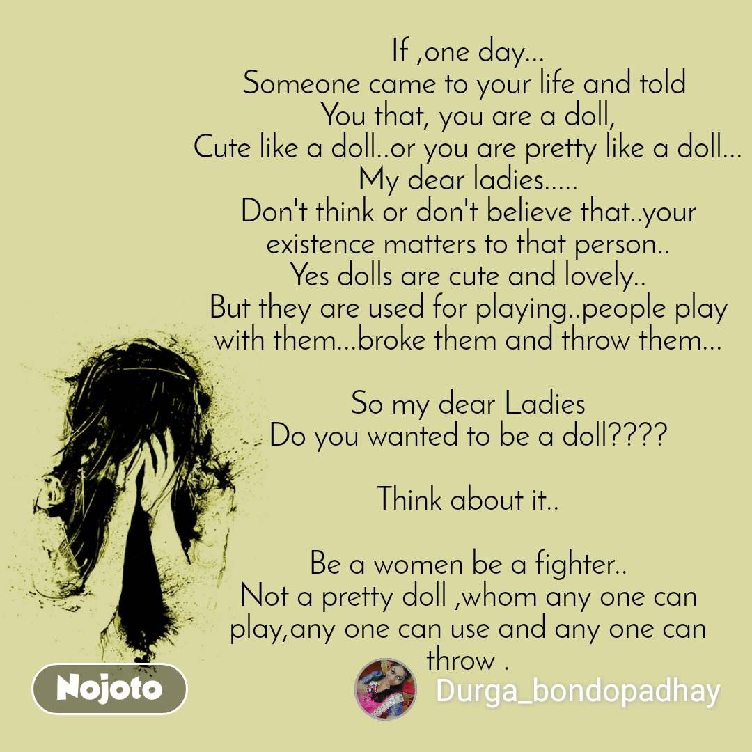 If ,one day... Someone came to your life and told | English ...