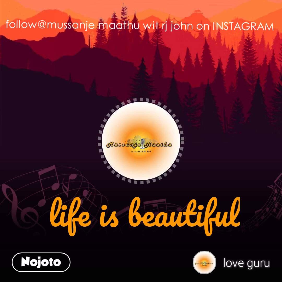 follow@mussanje maathu wit rj john on INSTAGRAM life is beautiful